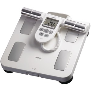 OMRON Full-Body Sensor Body Composition Monitor & Scale (White) HBF-510W
