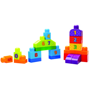 MEGA BLOKS(R) First Builders(R) 1-2-3 Count DLH85