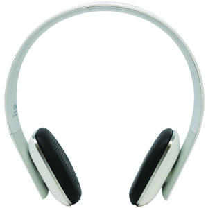 LEME BLUETOOTH Ergonomic Bluetooth(R) 4.0 Over-the-Ear Headphones EB20A-WH