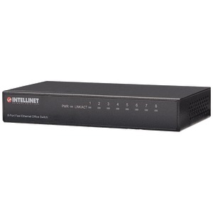 INTELLINET Desktop Ethernet Switch (8 Port) 523318