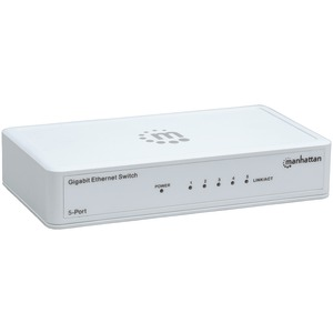 MANHATTAN Gigabit Ethernet Switch (5 Port) 560696