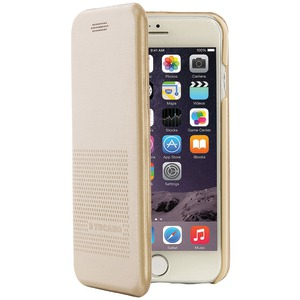 TUCANO 2-in-1 Booklet Case for iPhone(R) 7 (Gold) IPH7421-GL