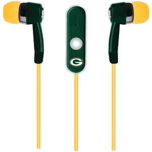 Stereo Earbuds with Microphone (Green Bay Packers(TM))