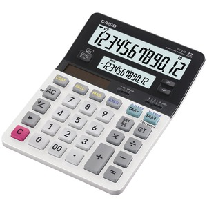 CASIO Dual Display Desktop Solar Calculator DV-220
