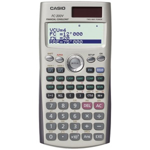 CASIO Financial Calculator FC-200V