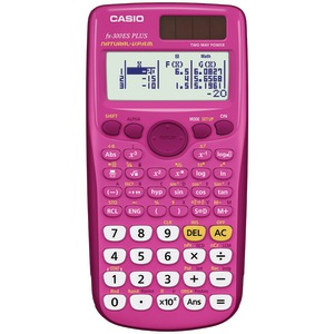 CASIO Fraction & Scientific Calculator (Pink) FX-300ESPLUS-PK