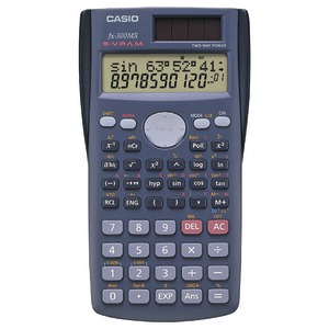 CASIO Scientific Calculator with 240 Built-In Functions FX300-MS