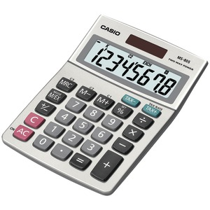 CASIO Solar Desktop Calculator with 8-Digit Display MS80SSIH