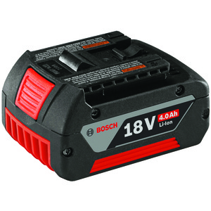 BOSCH(R) 18-Volt Li-Ion 4Ah SlimPack Battery BAT620