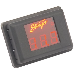 STINGER Voltage Gauge (Red Display) SVMR
