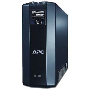 APC Power Saving Back UPS RS System (Output power capacity: 1000VA-600W; 8 outlets 4 UPS-surge 4 surge only) BR1000G