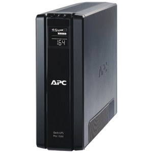 APC Power Saving Back-UPS RS System (Output power capacity: 1350VA-865W; 10 outlets 5 UPS-surge 5 surge only) BR1500G