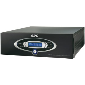APC 12-Outlet J-Type Power Conditioner with Battery Back-Up (Black) J10BLK