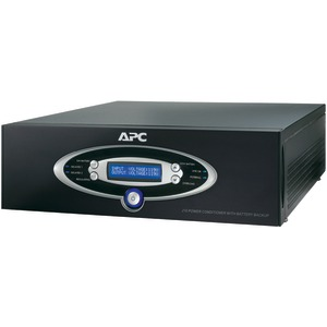 12-Outlet J-Type Power Conditioner with Battery Backup (Black)