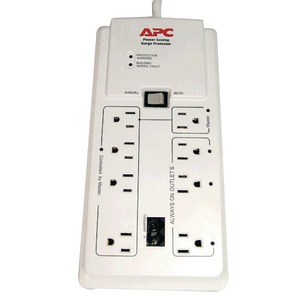 APC 8-Outlet Energy-Saving Surge Protector P8GT
