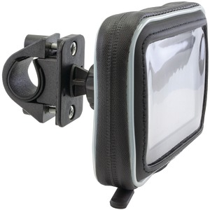 Water-Resistant Protective Case for 5.5 Inch. GPS with Zip-Tie Style Strap Mount
