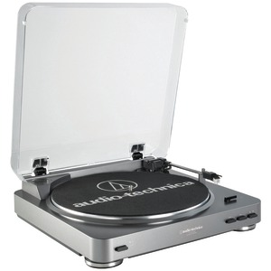 AUDIO TECHNICA Fully Automatic Belt-Driven USB Turntable AT-LP60USB