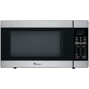MAGIC CHEF 1.8 Cubic-ft 1100-Watt Stainless Microwave with Digital Touch MCD1811ST
