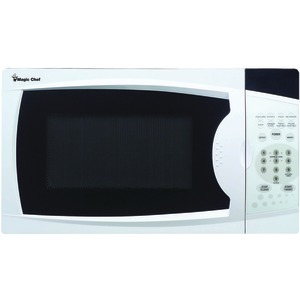 MAGIC CHEF .7 Cubic-ft 700-Watt Microwave with Digital Touch (White) MCM770W