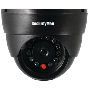 SECURITY MAN Simulated Indoor Dome Camera with LED SM-320S