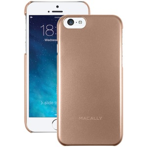 MACALLY iPhone(R) 6 4.7 Inch. Snap-On Case (Metallic Champagne) SNAPP6MCH