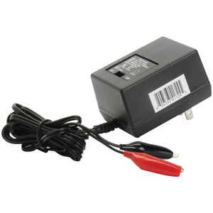UPG Sealed Lead Acid Battery Charger (6V-12V Switchable Single-Stage with Alligator Clips) D1724