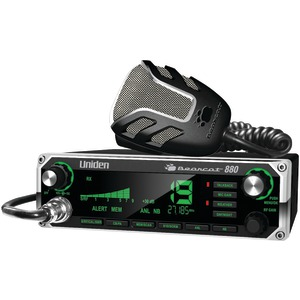 UNIDEN 40-Channel Bearcat 880 CB Radio with 7-Color Display Backlighting BEARCAT 880