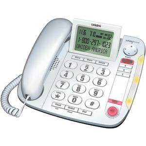 Corded Big-Button Caller ID Desk Speakerphone