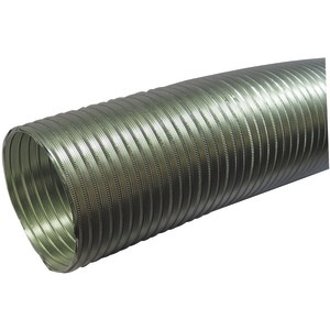 DEFLECTO Semirigid Flexible Aluminum Duct (5 Inch. dia x 8ft) A058/5