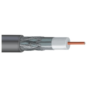 VEXTRA Dish-Approved Single RG6 Cable 1000ft (Gray) V66B GRAY