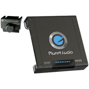 PLANET AUDIO ANARCHY Class AB Full-Range MOSFET Amp (2 Channel 1000 Watts Max) AC1000.2