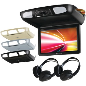 PLANET AUDIO 11.2 Inch. Ceiling-Mount TFT DVD Player with Built-in IR Transmitter & FM Modulator P11.2ES