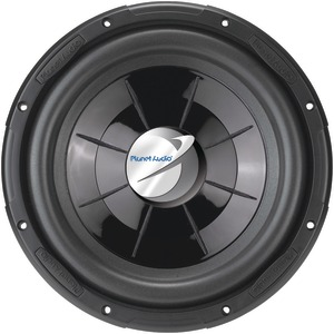 PLANET AUDIO Single Voice-Coil Flat Subwoofer (12 Inch. 1000 Watts) PX12