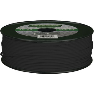 INSTALL BAY 18-Gauge Primary Wire 500ft (Black) PWBK18500
