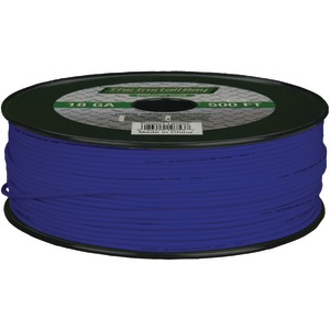 INSTALL BAY 18-Gauge Primary Wire 500ft (Blue) PWBL18500