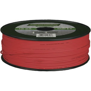 INSTALL BAY 18-Gauge Primary Wire 500ft (Red) PWRD18500