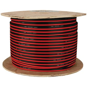 INSTALL BAY 16-Gauge Red-Black Paired Primary Speaker Wire 500ft SWRB16-500