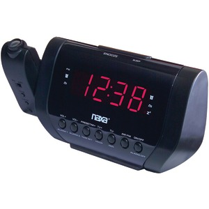 NAXA Projection Dual Alarm Clock NRC-173