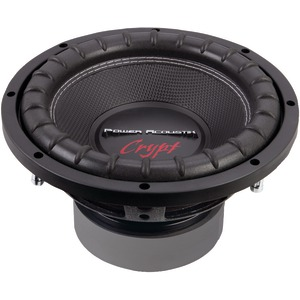 POWER ACOUSTIK Crypt Series Dual Voice-Coil Subwoofer (10 Inch. 1800 Watts 4Ω) CW2-104