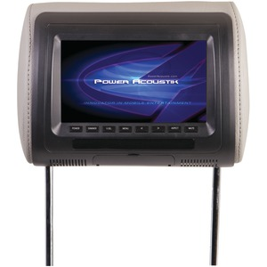 POWER ACOUSTIK Universal Headrest Monitor with IR Transmitter (7 Inch.) H-71CC