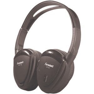POWER ACOUSTIK Swivel Ear Pad Single-Channel Wireless IR Headphones HP-11S