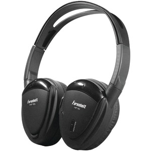 POWER ACOUSTIK 2-Channel Wireless IR Headphones HP-12S