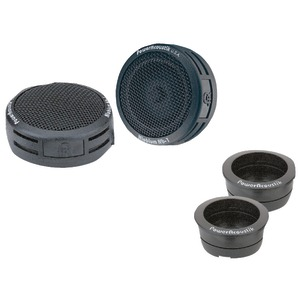 POWER ACOUSTIK 200-Watt 3-Way-Mount Tweeters NB-2