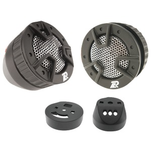 POWER ACOUSTIK 250-Watt 4-Way-Mount Tweeters NB-4
