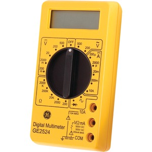 GE 17-Range 6-Function Digital Multimeter Nonrecording 50953