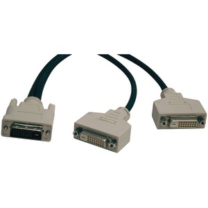TRIPP LITE DVI-D Y Splitter Cable 1ft P564-001