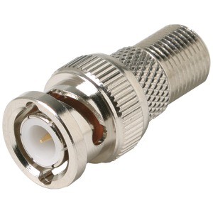 STEREN F-Jack to BNC Plug Adapter 200-130
