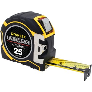 STANLEY FatMax(R) 25ft Auto-Lock Tape Measure FMHT33338L