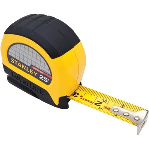 STANLEY LeverLock(R) 25ft Tape Rule Measure STHT30825