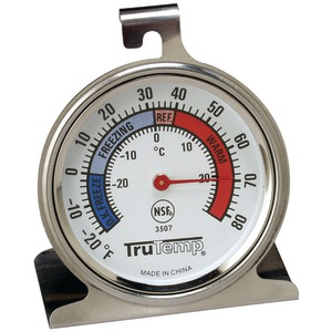 TAYLOR Freezer-Refrigerator Thermometer 3507